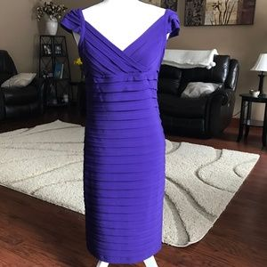 NW Collections Lined Stretch Dress